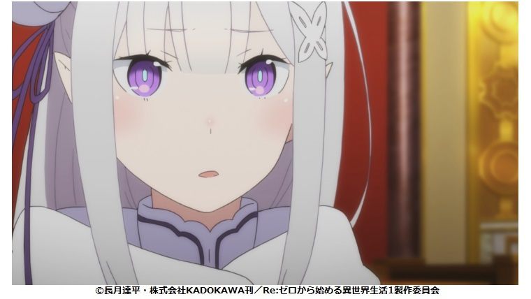 Re:ゼロから始める異世界生活 12話